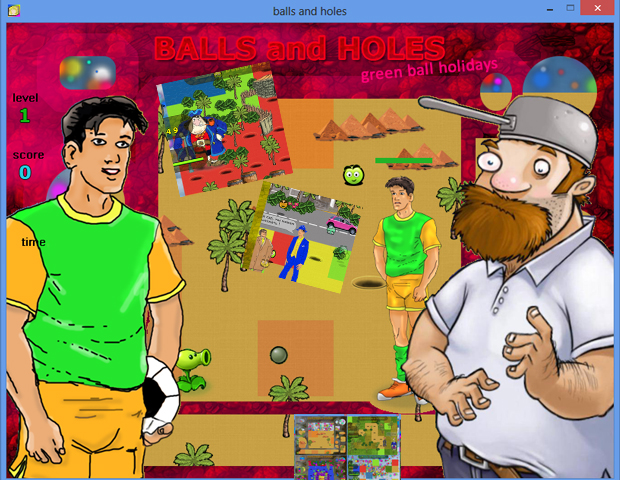 Balls and Holes PC game version 03.07.2017 download