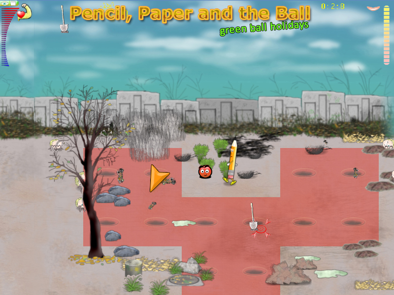Шар Бумага Карандаш / Pencil Paper and the Ball PC game light версия 23.07.2017 скачать