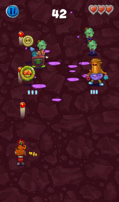 Laser Adventures - fast hardcore shooter играть в браузере