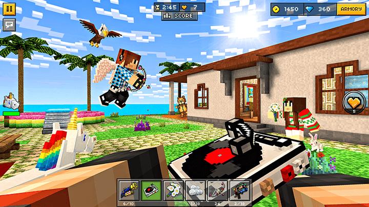 игра Pixel Gun 3D android