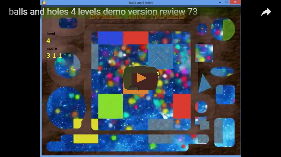 balls and holes 4 levels demo version review 73