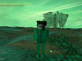 игра Нечто Необъяснимое 2 уровень игровая сцена герой Рукер
