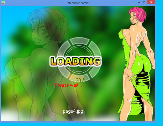something: unexplaned 2 captive of desires loading screen