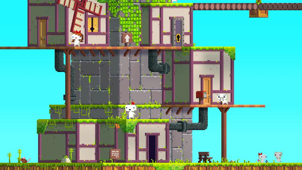 Fez игра головоломка для PC