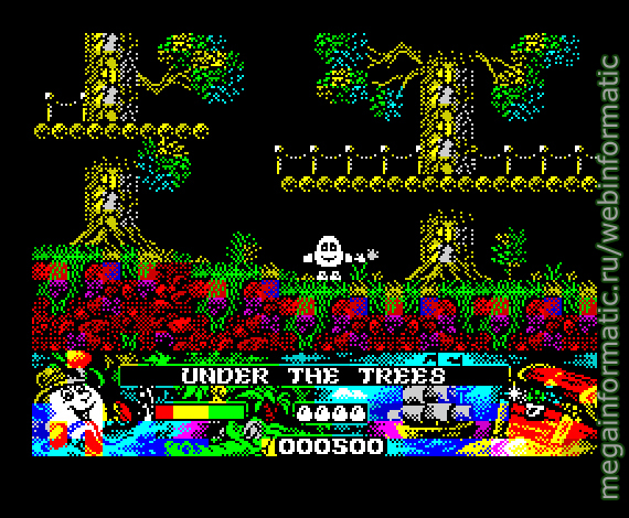 Crystall Kindom Dizzy | ZX Spectrum | game | ZXArt Russia 2017 - screen 1