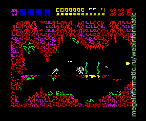 Rex | ZX Spectrum | game | Martech Games Ltd UK, 1988 - screen 1 играть онлайн / play online